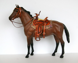 Mini Saddle and Bridle